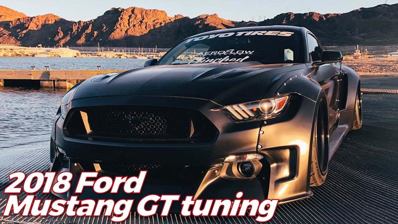 2018 ford mustang gt tuning black fury widebody monster youtube. Black Bedroom Furniture Sets. Home Design Ideas
