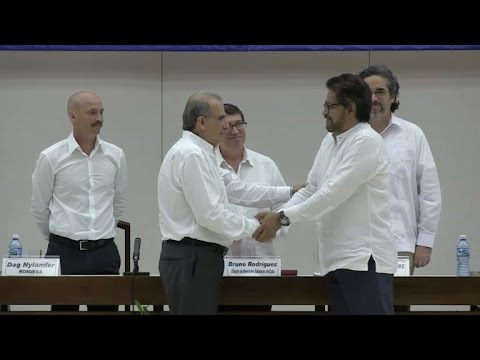 FARC y gobierno anuncian pacto a favor de las víctimas