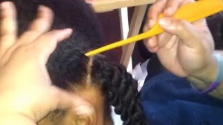 TUTORIAL!! 12/20/2014 - Pt 2  of My Rubber band Technique