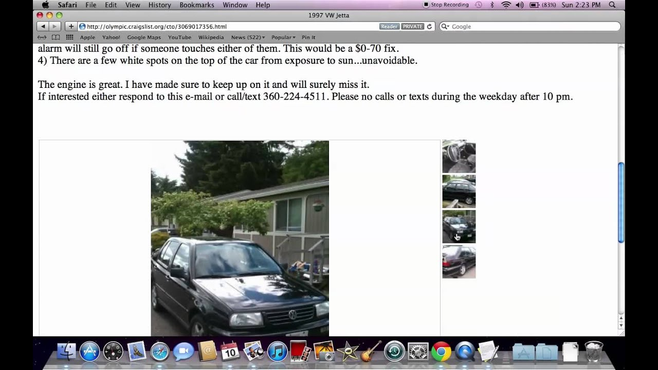 Craigslist Olympic Peninsula Washington Used Cars For Sale By Owner Available Now Youtube
