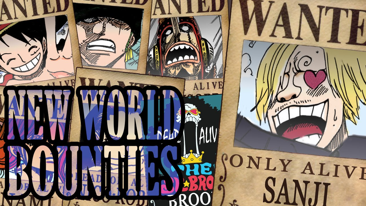 NEW BOUNTIES STRAWHAT PIRATES + NEW POSTERS (CHAPTER 801 ...