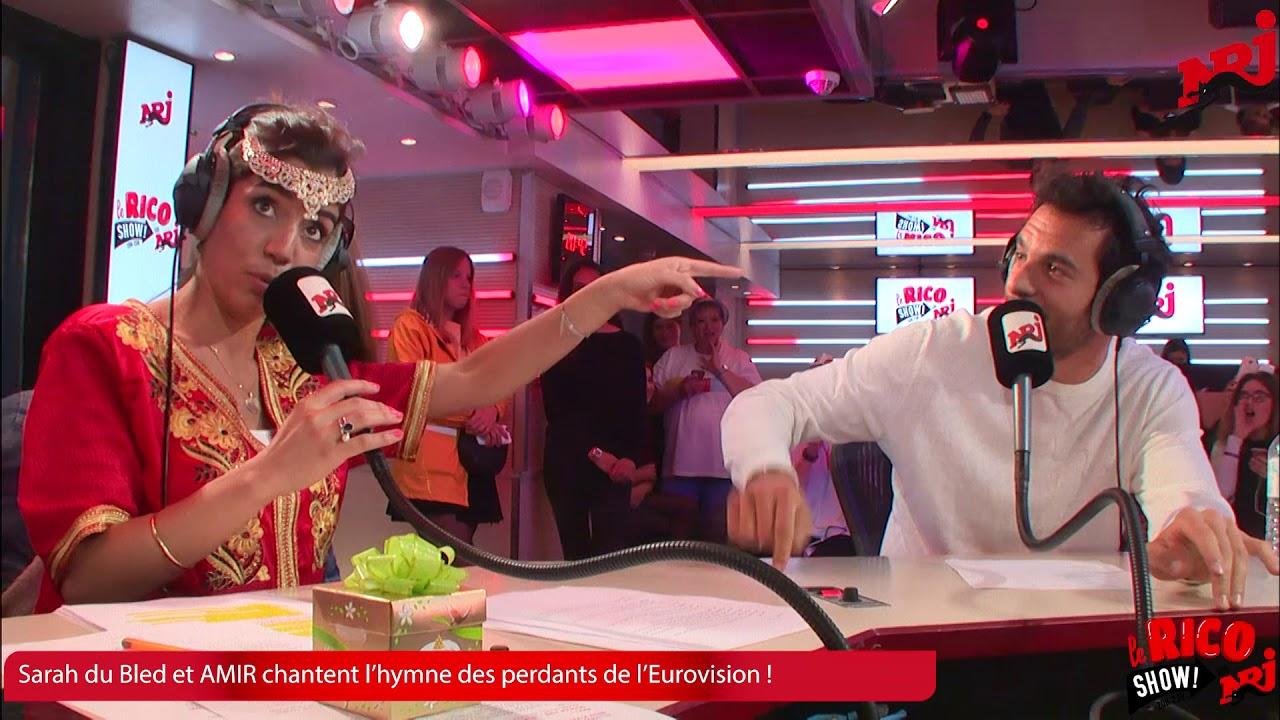Amir et Sarah Du Bled L'hymne des perdants de l'Eurovision - Le RicoShow sur NRJ