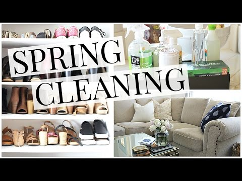 Spring Clean With Me! (natural home products) | Kendra Atkins