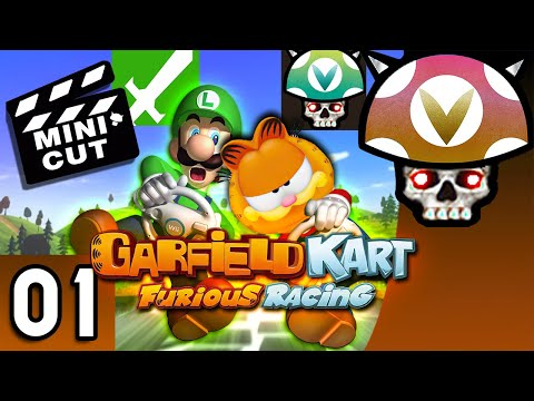 [Vinesauce] Joel - Garfield Kart - Furious Racing Mini-Cut |