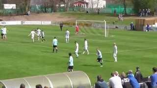 27. Spieltag: 1. FC Bocholt - SF Baumberg 1:1 (1:0)