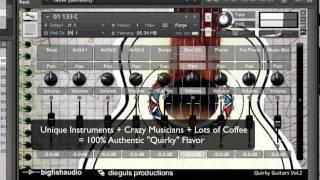 Quirky Guitar Vol 2 KLI Series Overview