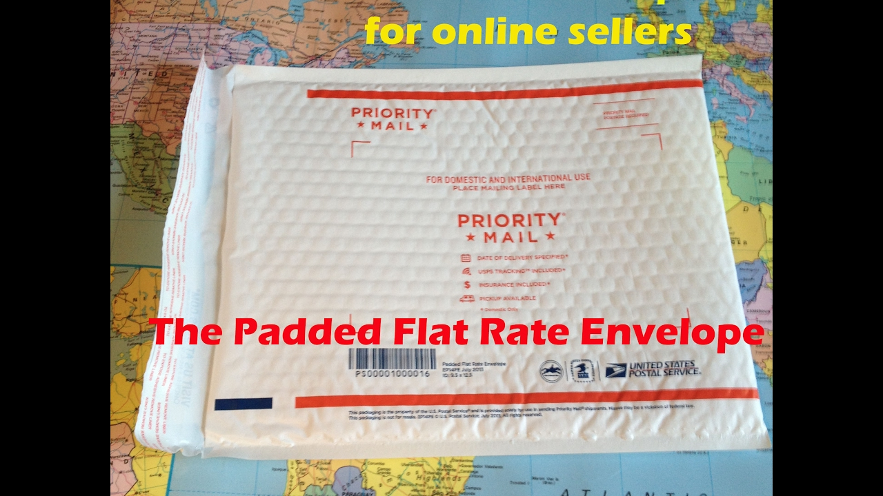 How to find the very useful USPS Padded Flat Rate in 2 easy steps