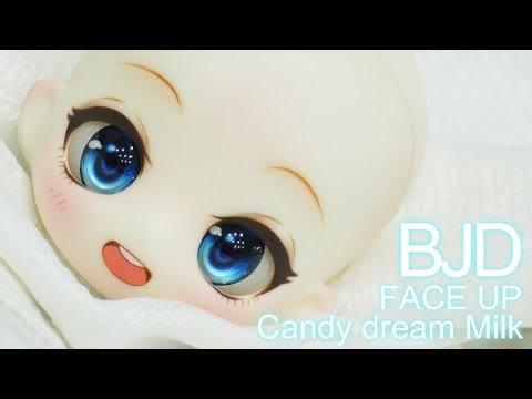 [구체관절인형 메이크업] 캔디드림 우유 / candy dream milk / bjd face up