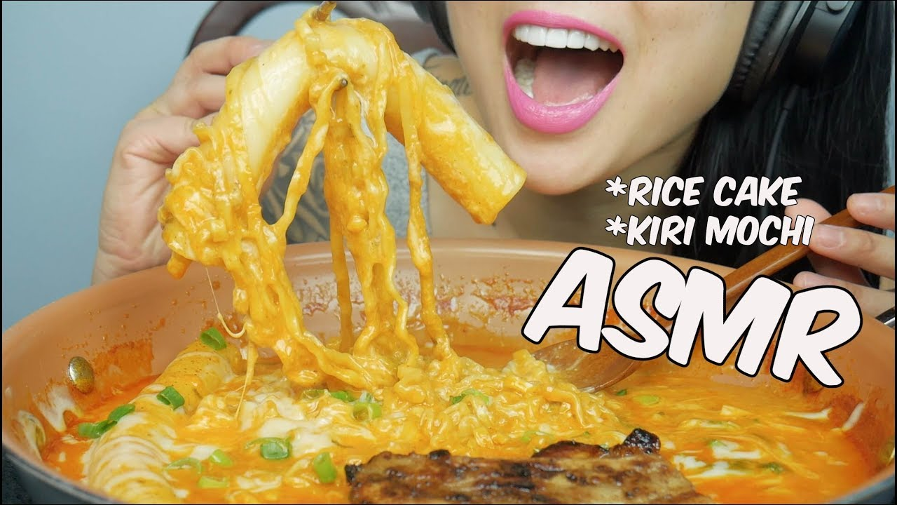 Asmr Kiri Mochi Giant Rice Cake Spicy Cheesy Noodles Eating Sounds No Talking Sas Asmr Youtube Zachchoi check out my facebook: asmr kiri mochi giant rice cake spicy cheesy noodles eating sounds no talking sas asmr
