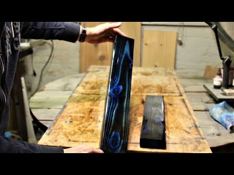 Coloring Wood With Shou Sugi Ban and Wood Dye