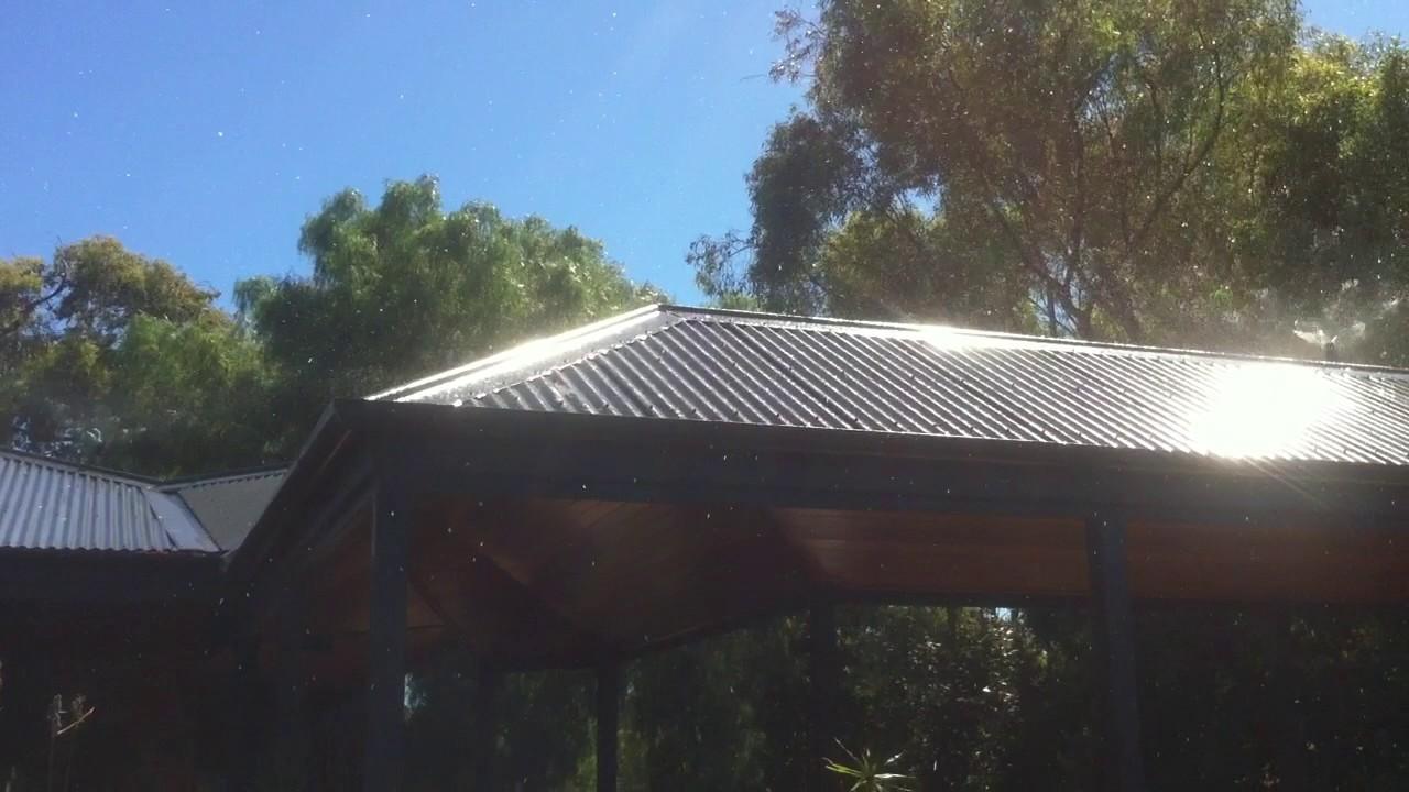 Roof Sprinkler system