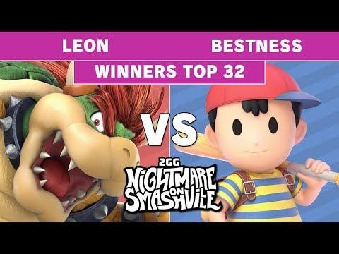 2GG NoS - Leon (Bowser) VS Armada | BestNess (Ness) - Smash Ultimate - Top 32