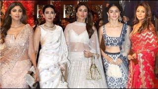 Bollywood Actresses HOT Look At Isha Ambani's Wedding- Kareena, Alia, Karisma, Deepika