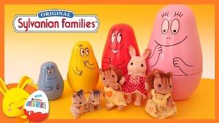 Sylvanian families - Poupées gigognes - Poupées russes - Titounis