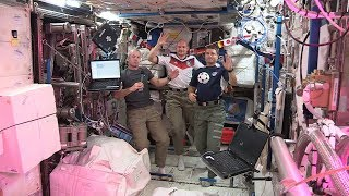 Astronauts to watch World Cup from Space Station
