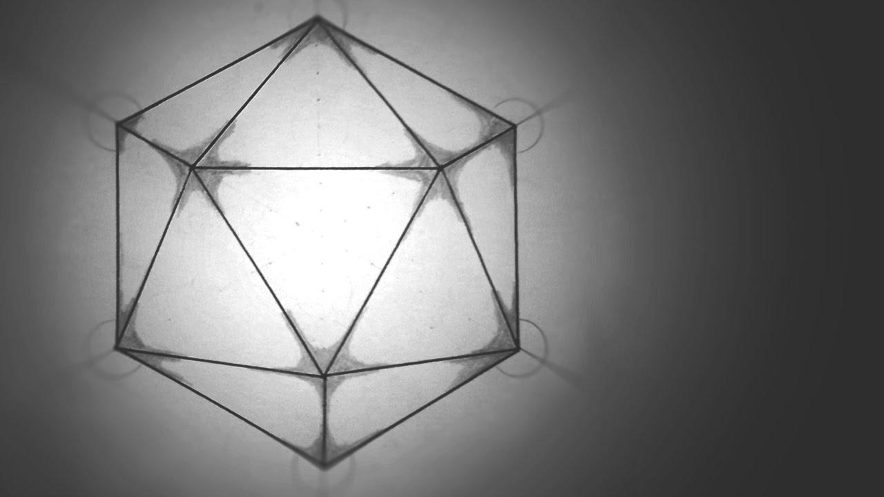 How To Draw Icosahedron