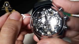 hướng dẫn sử dụng và điều chỉnh đồng hồ reef tiger GRA 703