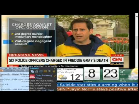 BREAKING NEWS: Freddie Gray's death ruled a homicide in Baltimore - Lake City TV - YouTube Edition