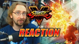 MAX REACTS: SF5 Arcade Edition - New V-Triggers & Moves Trailer