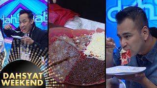 Denny & Raffi Lahap Banget Makan Martabak [Dahsyat] [31 Jan 2016]