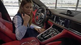 Обзор Porsche Panamera 4s 2017 GT silver