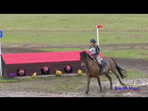 200XC Mia Pollioni On Galaxy Girl JR Beginner Novice Cross Country Twin Rivers Ranch March 2019