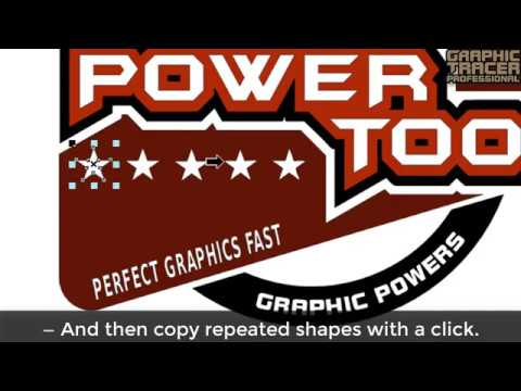 Graphic Tracer the Power Tool for Cleaning Up Poor Quality Graphics