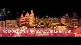 top10- Die schönsten Weihnachtsmärkte Deutschlands