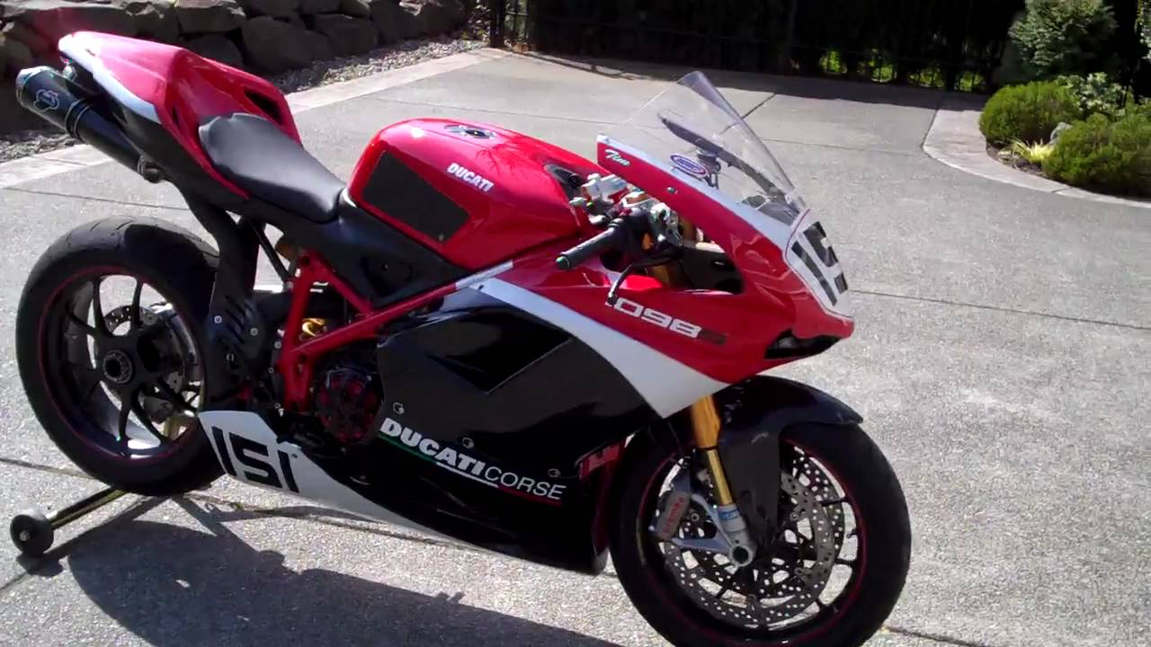 Ducati 1098s Track Bike Youtube