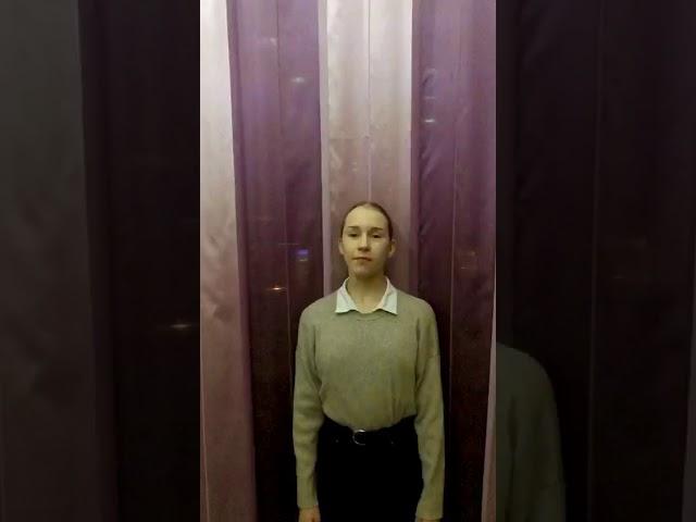 Изображение предпросмотра прочтения – ДарьяМацюк читает произведение «Чемубы жизнь нас ниучила…» Ф.И.Тютчева