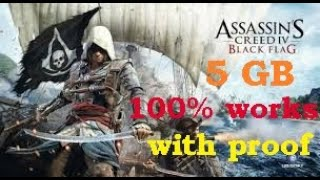 How to download Assassins creed 4 black flag [5 GB]100% working