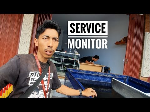 Memperbaiki Monitor Komputer Mati Total VLOG141