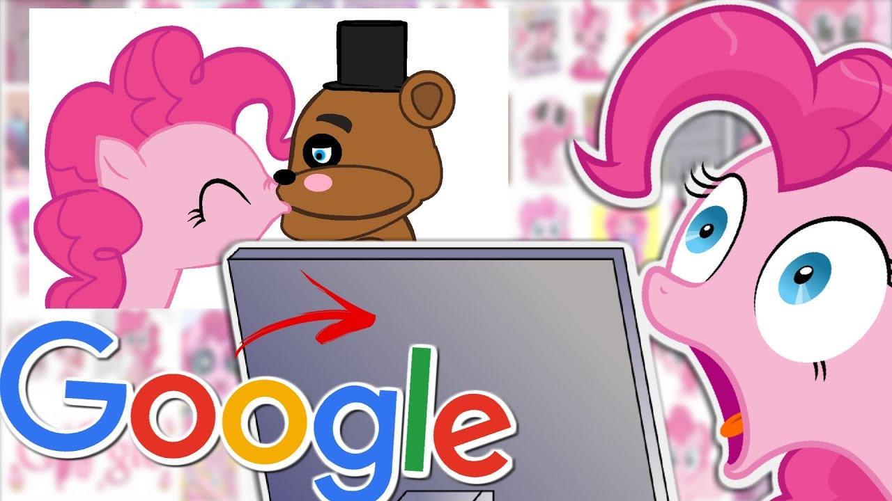 Pinkie Pie GOOGLES HERSELF 🍉 - YouTube