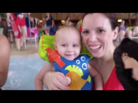 Twins First Water Park Visit | Splash Lagoon | First Hotel Stay!