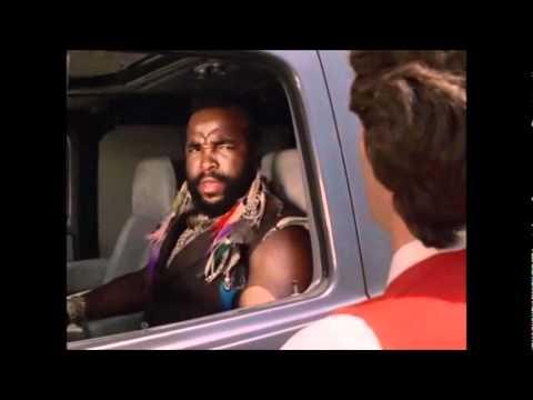 Mr T.  Nobody touches BA's van