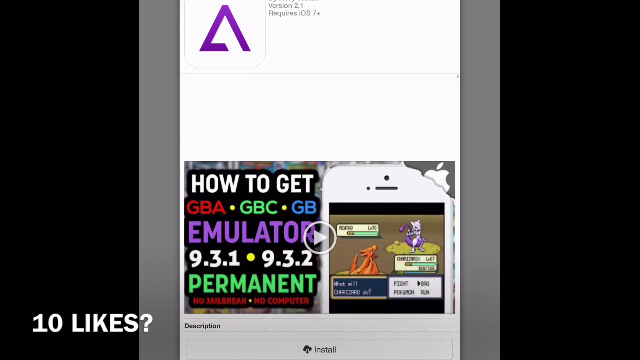 How To Get A Gba 4 iOS 11 No Jailbreak
