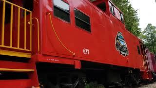 Smoky Mountain Railway - Nantahala Gorge