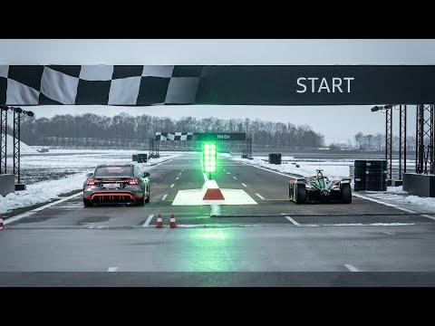 * SPRINT * Formula E vs RS e-tron GT