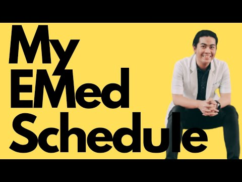 My Schedule As An EMERGENCY MEDICINE Resident In The Philippines