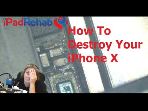 How To Destroy Your IPhone X
