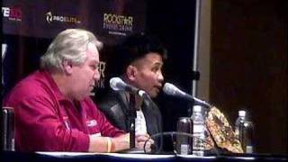 Cung Le Post Fight Part 3