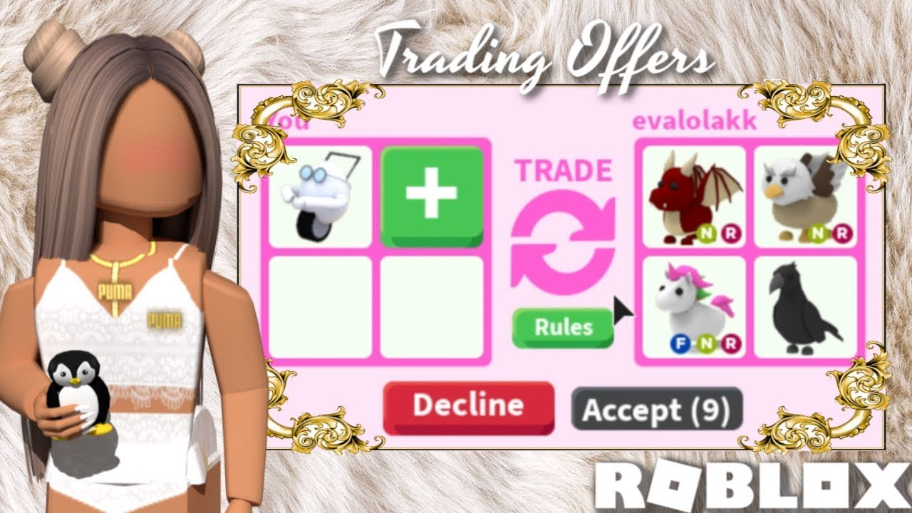 The Monkey Want To Give You A Hug Roblox Only Trading The Rarest Items In Adopt Me Roblox Adopt Me Youtube