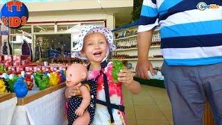 Кукла Беби Борн и Ярослава. Видео для детей – Возвращение домой из Памуккале Турция. Часть 3