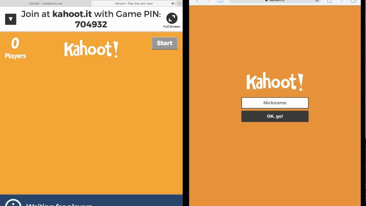 Play a Kahoot - YouTube