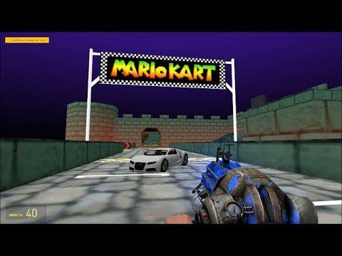 Mario Kart 64 Bowser's Castle Race Track (Garry's Mod)