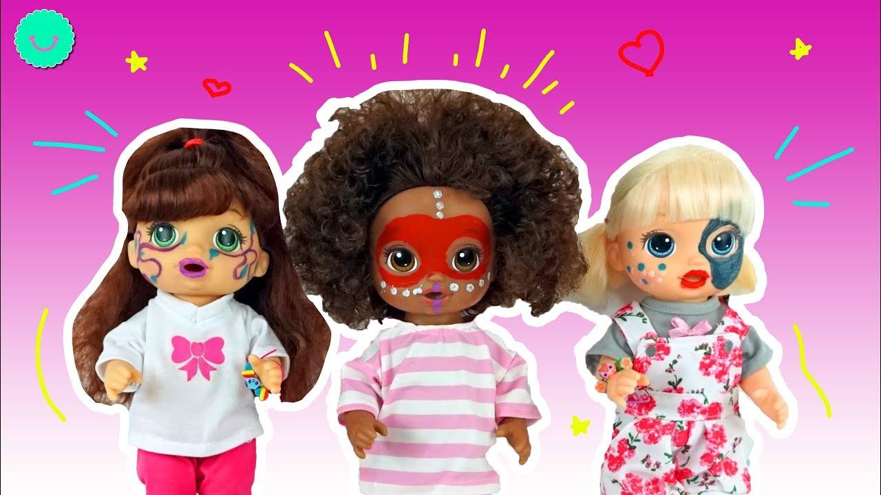 Maquillaje fantasía para muñecas Baby Alive