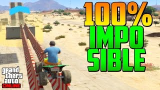 100% IMPOSIBLE! CON QUADS!!! - Gameplay GTA 5 Online Funny Moments (Carrera GTA 5 Online PS4)
