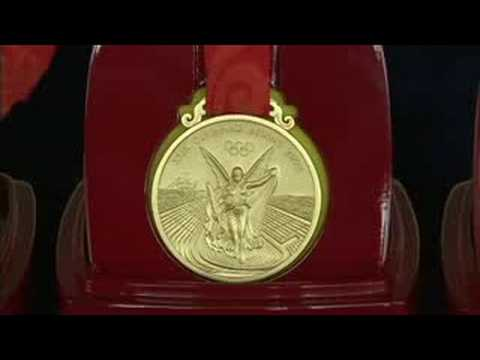 The medals - Beijing 2008 Summer Olympic Games