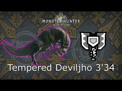 MHWorld: Tempered Deviljho [歴戦イビルジョー]  3'34
