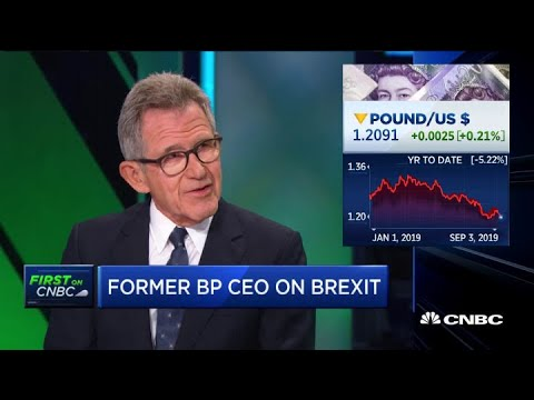 Former BP CEO On The Rise In Oil And Gas Bankruptcies
